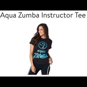 Aqua Zumba Instructor Tee XS/S